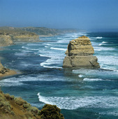 Kust vid Port Campbell, Australien