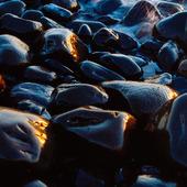 Stenar på strand