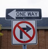 Trafikskylt, USA
