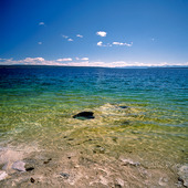 Yellowstone  lake, USA
