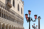 St Marcusplatsen i Venedig, Italien