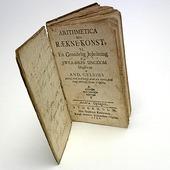 Bok räknekonst från 1741