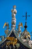 Marcuskyrkan i Venedig, Italien