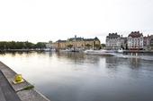 Nybroviken med Strandvägen i Stockholm
