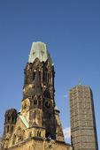 Kaiser-Wilhelm-Gedächtniskirche i Berlin, Tyskland