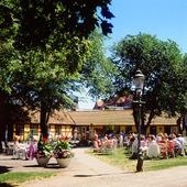 Uteservering i Ystad, Skåne