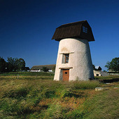 Ombyggd väderkvarn, Gotland