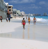 Stranden i Cancun, Mexico