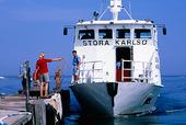 Färja till Stora Karlsö, Gotland