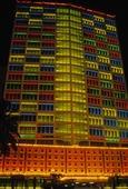 Byggnad i Bombay, Indien