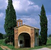 Kapell i Toscana, Italien