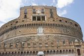 St Angelo fästning i Rom, Italien
