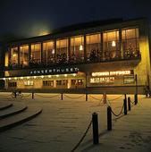 Vinter vid Konserthuset, Göteborg