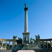 Hjältarnas torg i Budapest, Ungern