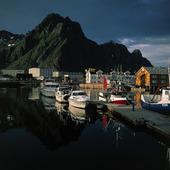 Solvaer i Lofoten, Norge
