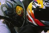 Motorcykelhjälmar