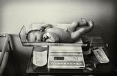 Nyfödd på förlossningsavdelning