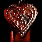 Sameslöje med hjärtform