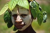 Man i Papua-Nya Guinea