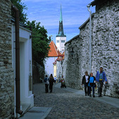 Old Town in Tallinn, Estonia