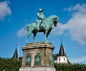 Staty Karl X Gustaf på Stortorget, Malmö