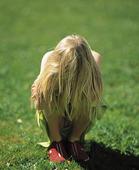 Ledsen flicka