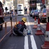Gatuarbete i Hongkong, Kina