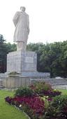 Mao Tse Tung staty i Changsha, Kina