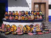 Pottery. Taxco, Puebla. Mexico