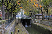 Quai de Valmy i Paris, Frankrike