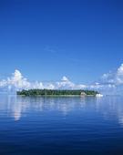 En ö vid Maldiverna