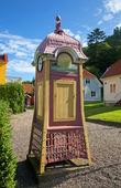 Telefonkiosk i Gränna, Småland