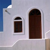 Door and window, Greece