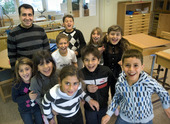 Hemspråksundervisning i syrianska/assyriska.