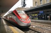 Centralstation i Bologna, Italien