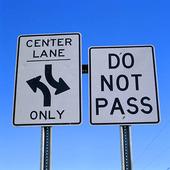 Trafikskyltar, USA