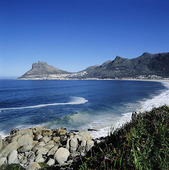 Kust utanför Kapstaden, Sydafrika