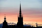 Stadshuset och Riddarholmskyrkan, Stockholm