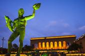 Staty Poseidon på Götaplatsen, Göteborg
