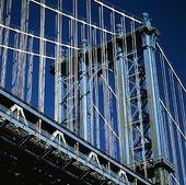 Manhattan Bridge i New York, USA