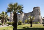 Castello Ursino i Catania på Sicilien, Italien