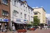 Storgatan i Ludvika, Dalarna