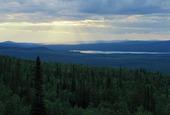 Landskapsvy i Norrbotten