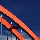 Detalj av järnvägsbro