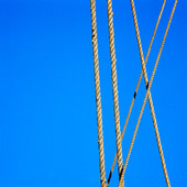 Spända rep på segelfartyg