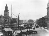 Stora Hamnkanalen i Göteborg, 1890 talet