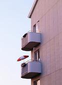 Lägenhet med balkong