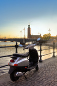 Moped i Stockholm