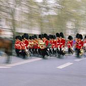 Vaktparad i London, Storbritannien