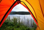 Camping i naturen